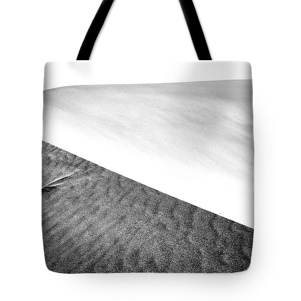Air Tote Bag featuring the photograph Magnificent Sandy Waves On Dunes At Sunny Day by Oleg Yermolov