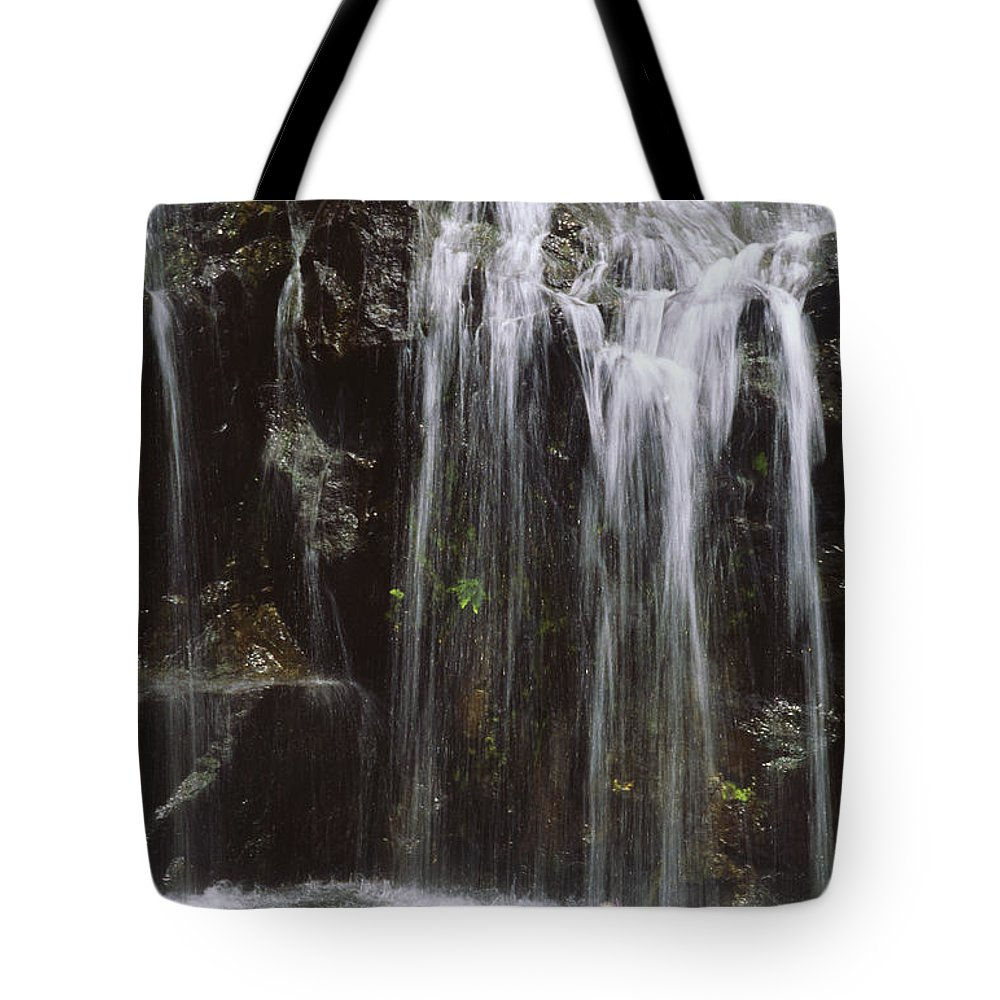 Beautiful Tote Bag featuring the photograph Maui Waterfall by Himani - Printscapes