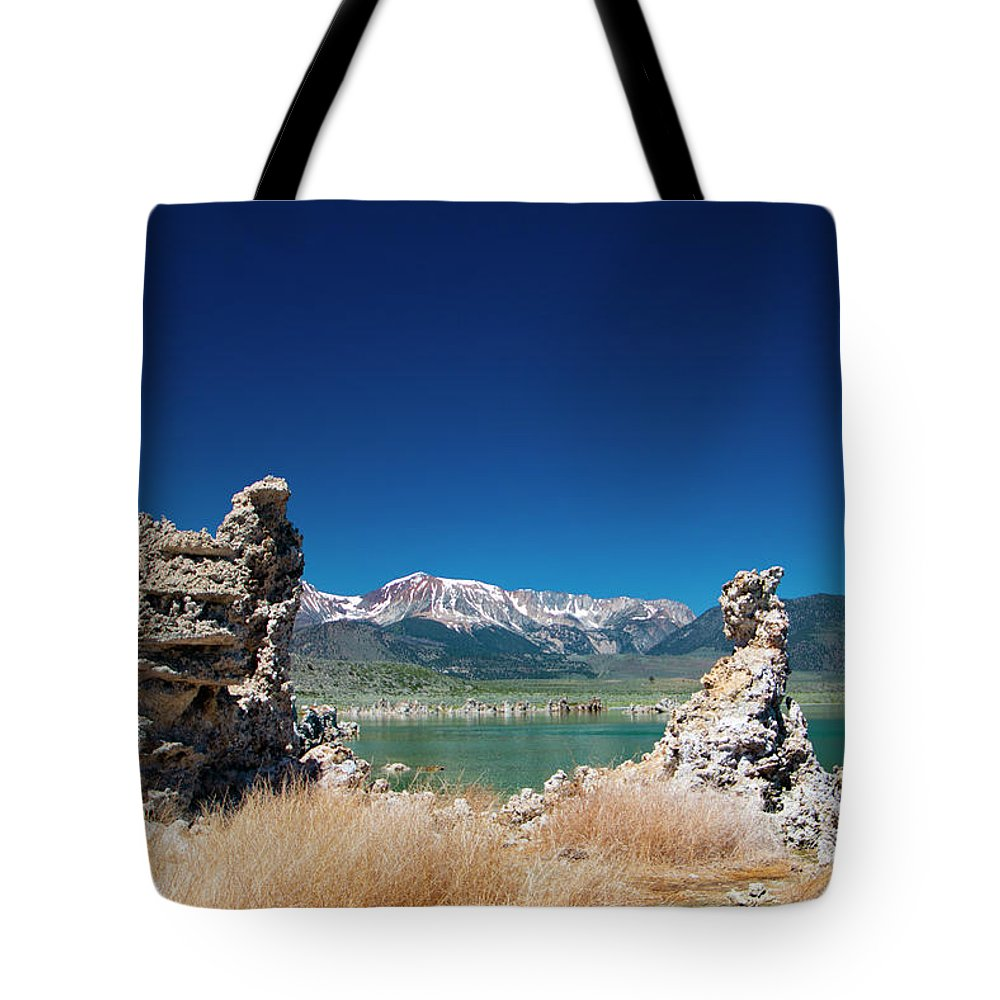 Tufa Formations Tote Bag featuring the photograph Mono Lake Tufa by Mark Jackson
