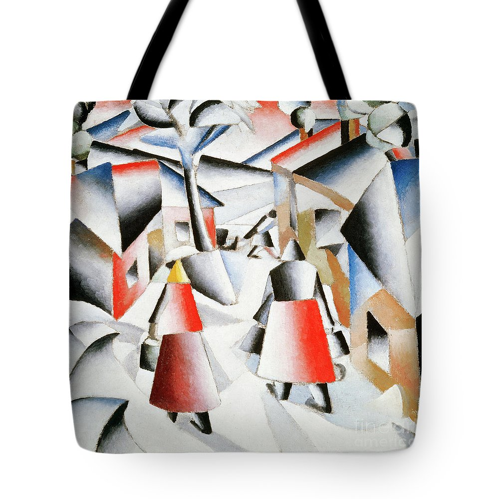 Rayonism Tote Bags