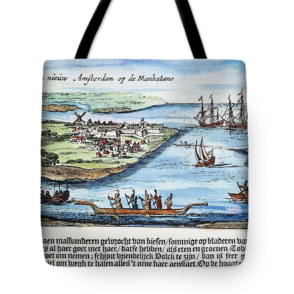 1651 Tote Bag featuring the photograph New Amsterdam by Granger