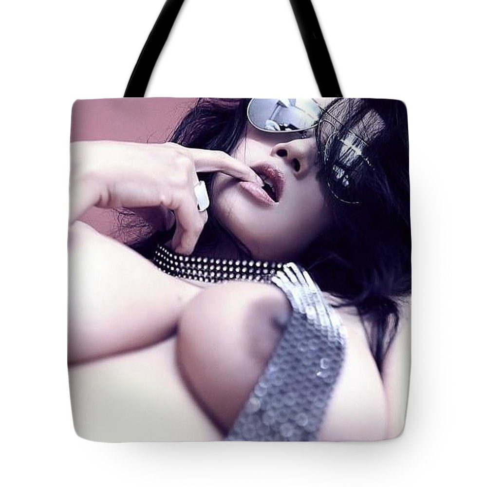 Tote Bag featuring the photograph Nude Photos by Sarah