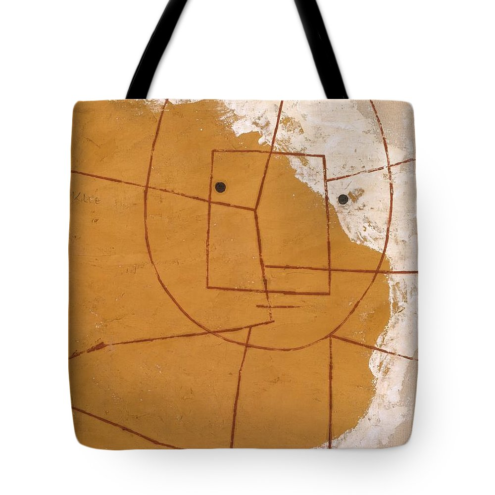 Paul Klee One Who Understands Tote Bag featuring the painting One Who Understands by Paul Klee