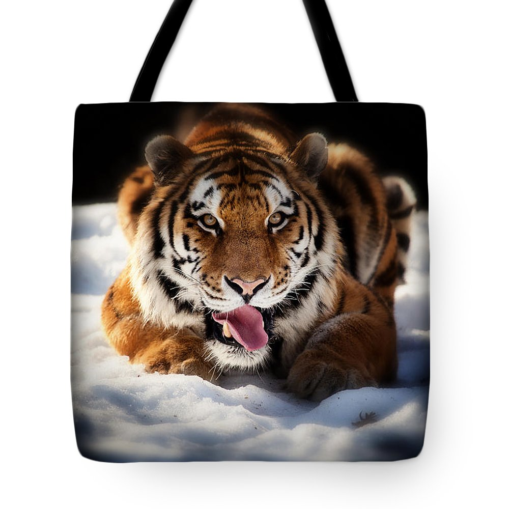 Precious Tote Bag featuring the photograph Open Wide by Karol Livote