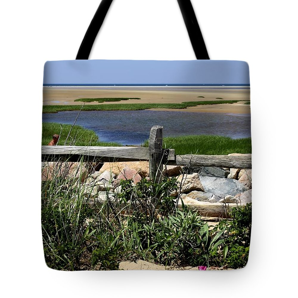 Water Tote Bag featuring the photograph Paines Creek by Donna Walsh