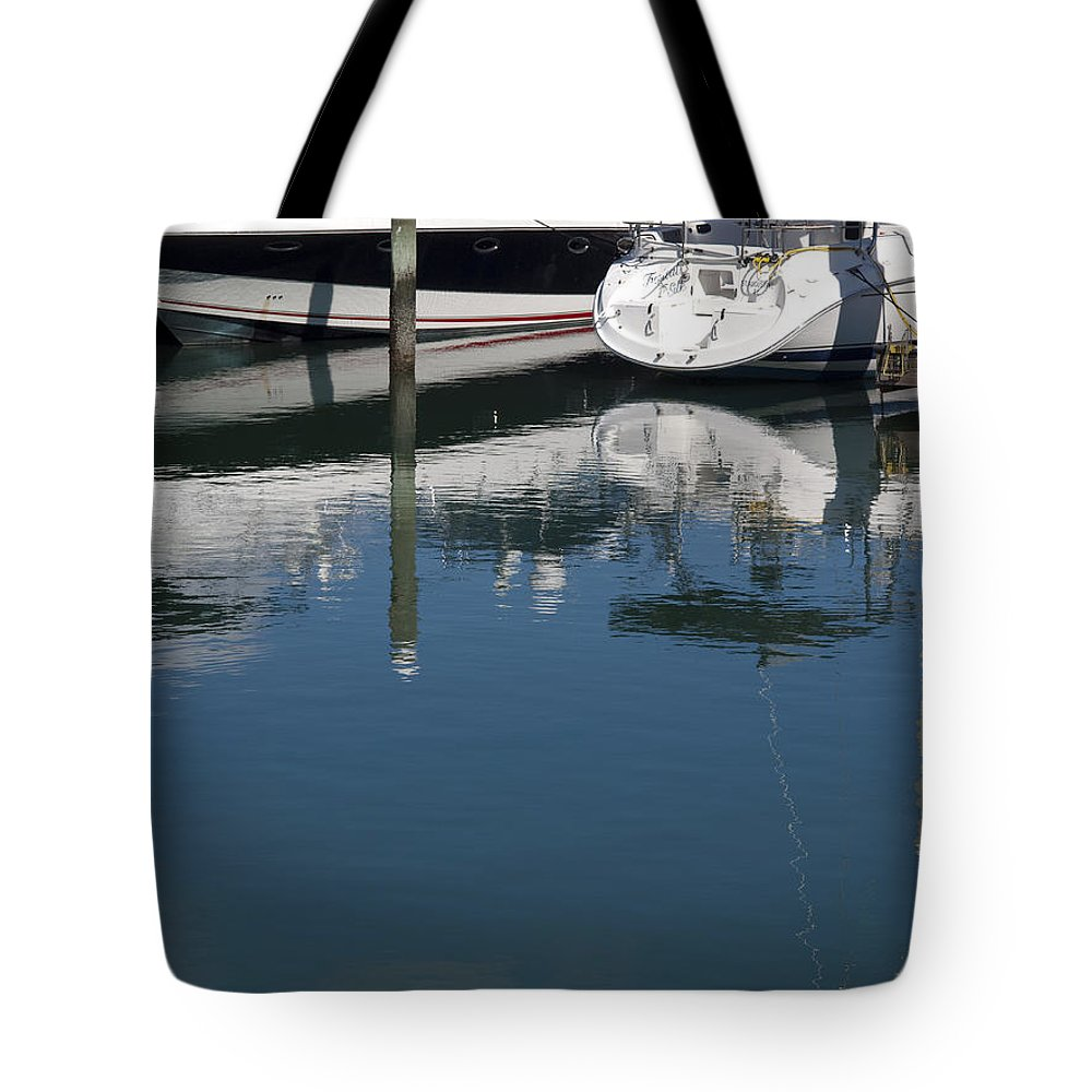 Florida Tote Bag featuring the photograph Port Canaveral Florida Usa by Allan Hughes