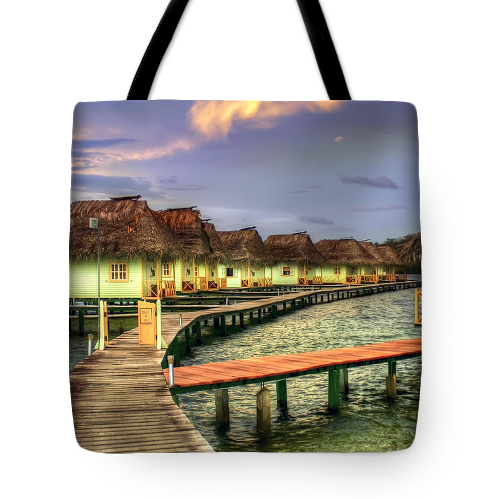 Punta Caracol Tote Bag featuring the photograph Punta Caracol by Dolly Sanchez