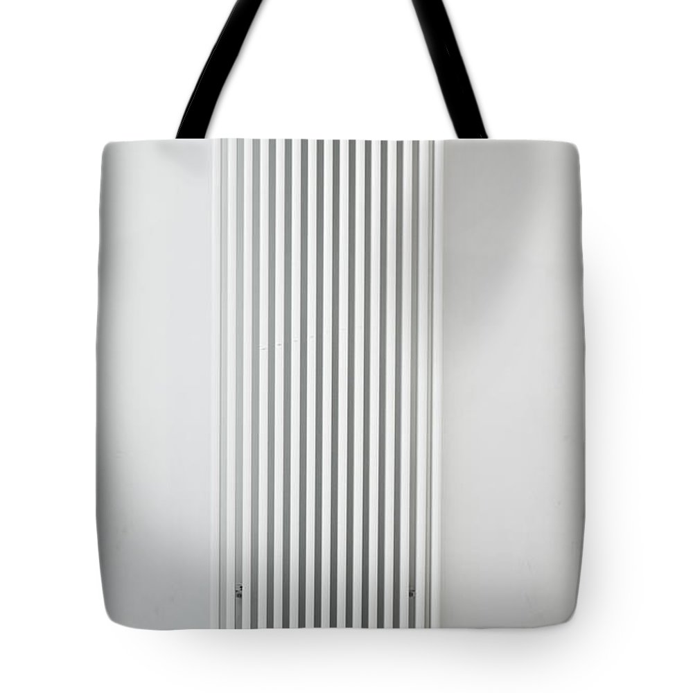 Background Tote Bag featuring the photograph Radiator by Tom Gowanlock