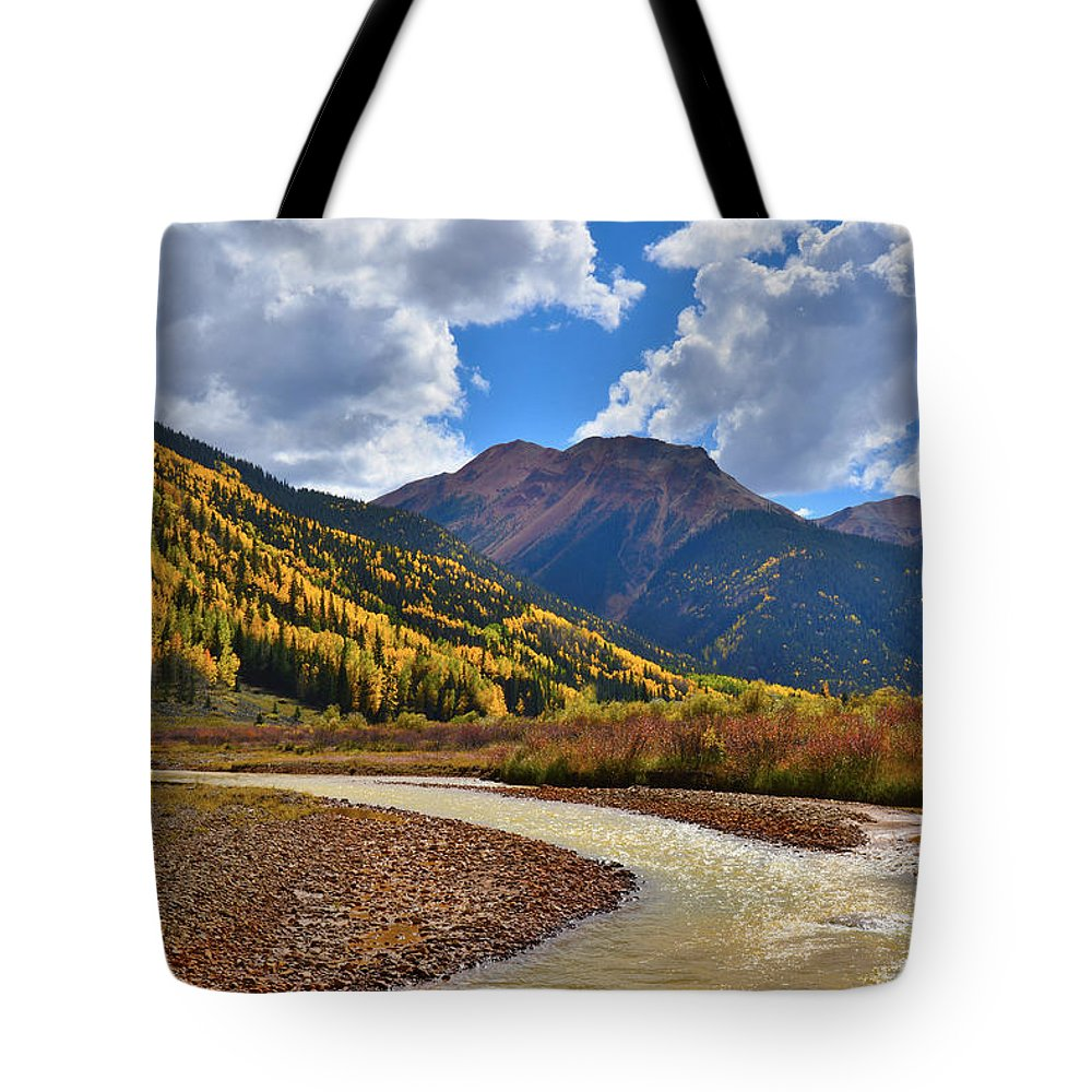 Colorado Tote Bag featuring the photograph Red Mountain Pass by Ray Mathis