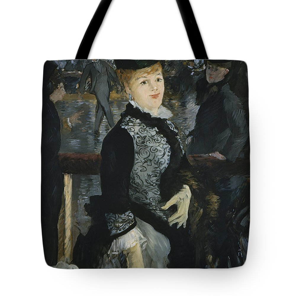 Europe Tote Bag featuring the painting Skating by Edouard Manet