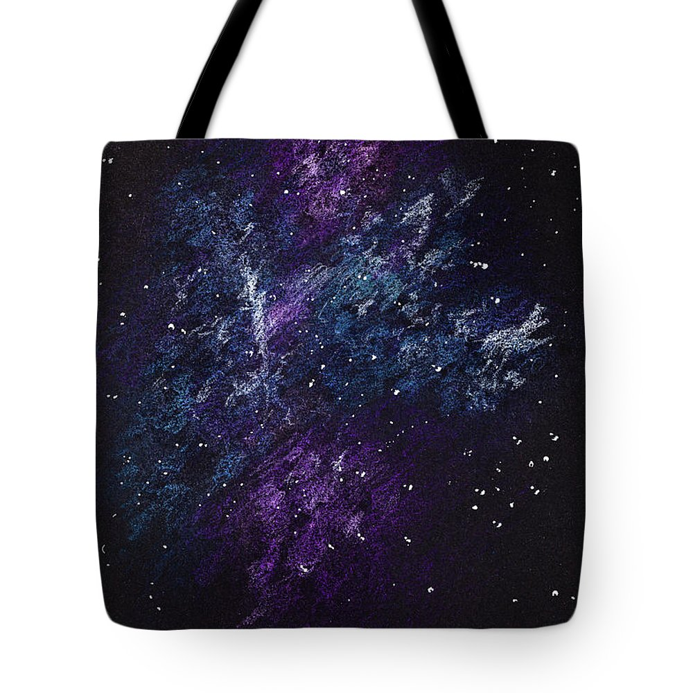 Sketch Of Abstract Design Night Sky Tote Bag For Sale By Ipolyphoto Art