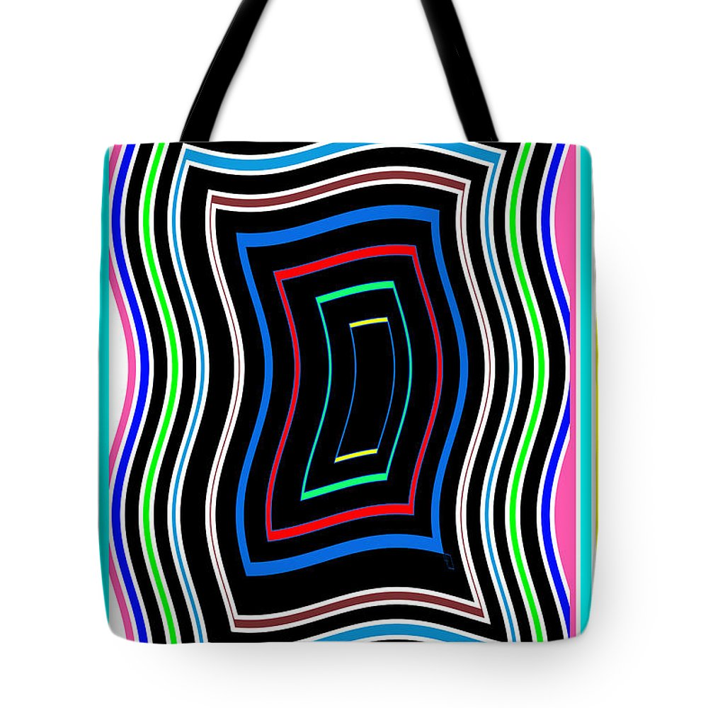 Smart Tote Bag featuring the mixed media Smart Graphics Techy Techno Kids Room Lowprice Wall Posters Graphic Abstracts For Throw Pillows Duve by Navin Joshi