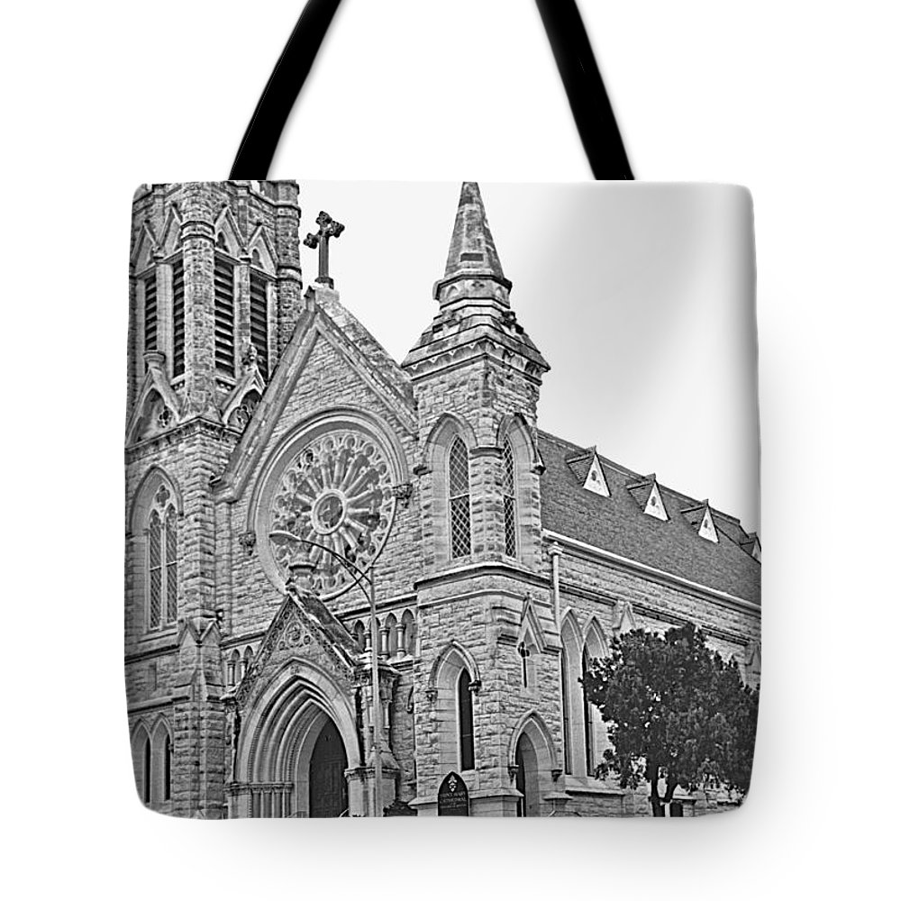 Churches Tote Bag featuring the photograph St. Mary Cathedral by Jim Smith