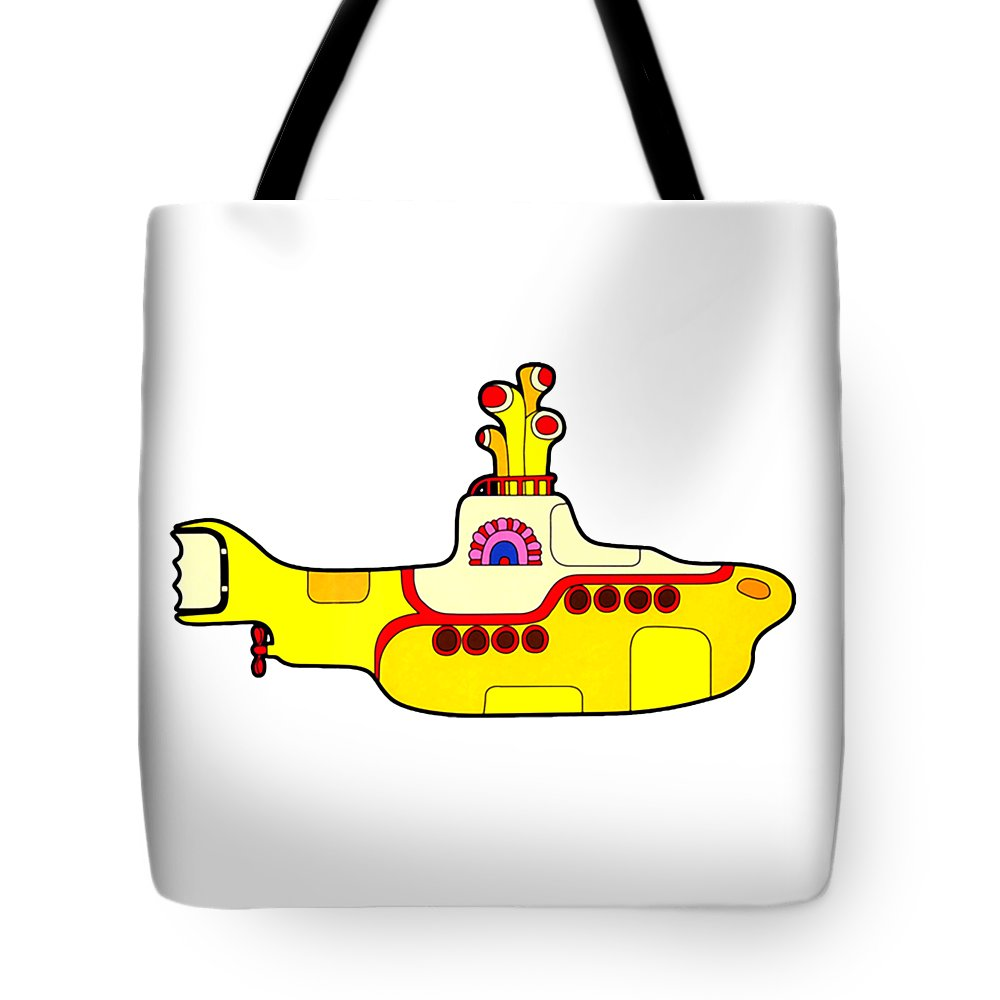 The Beatles Tote Bag featuring the digital art The Beatles by Jofi Trazia