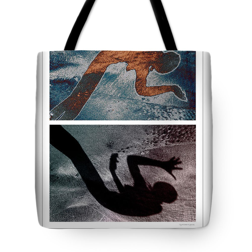 Poster Tote Bag featuring the photograph The Dancer by Michael Mogensen
