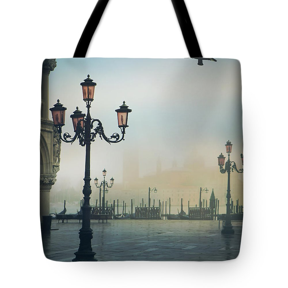Venice Tote Bag featuring the photograph Venice by Mark Owen