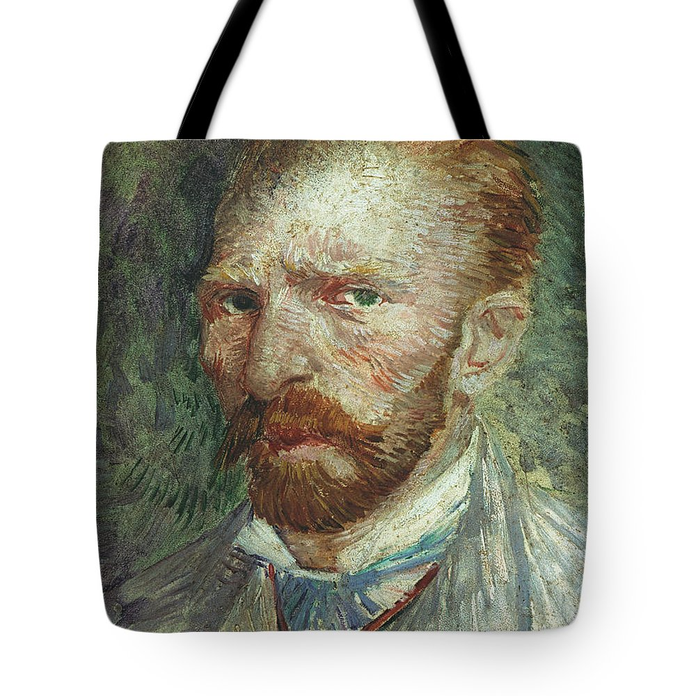 19th Century Tote Bag featuring the photograph Vincent Van Gogh (1853-1890) by Granger