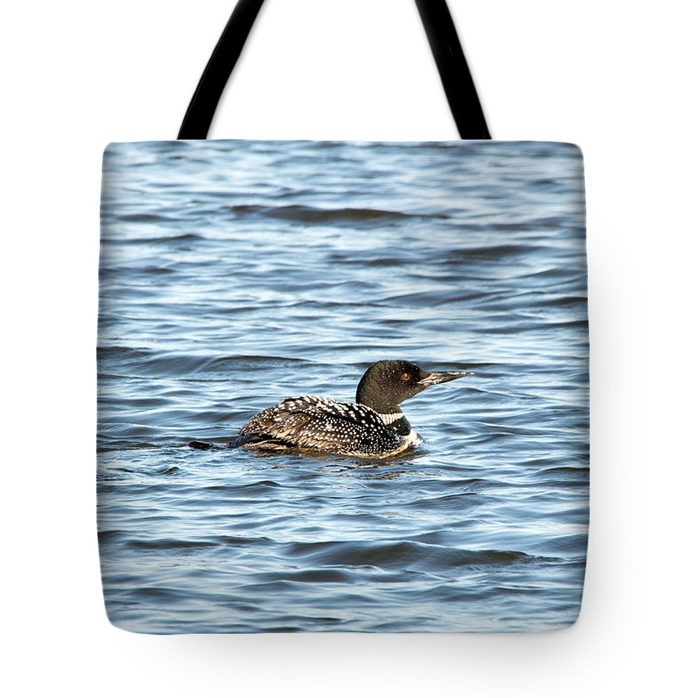 Seney National Wildlife Refuge Tote Bag featuring the photograph Waiting by Linda Kerkau