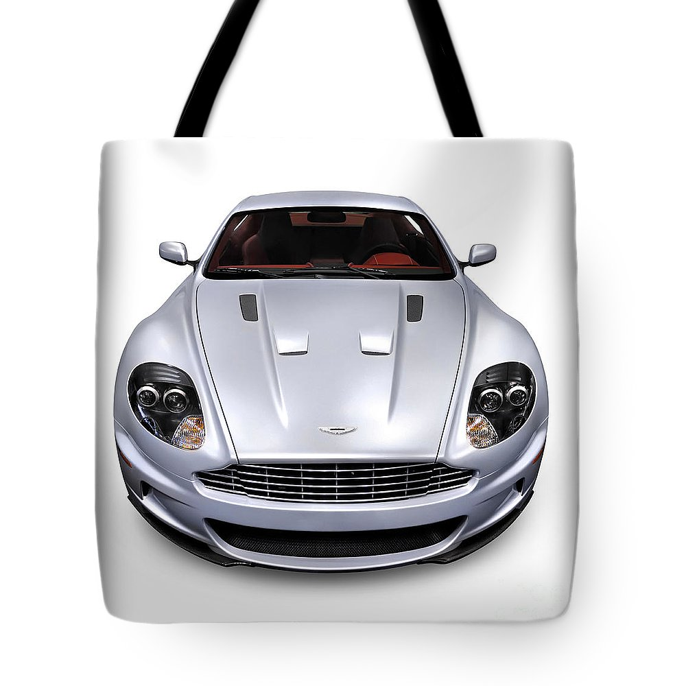 2009 Tote Bag featuring the photograph 2009 Aston Martin Dbs by Oleksiy Maksymenko
