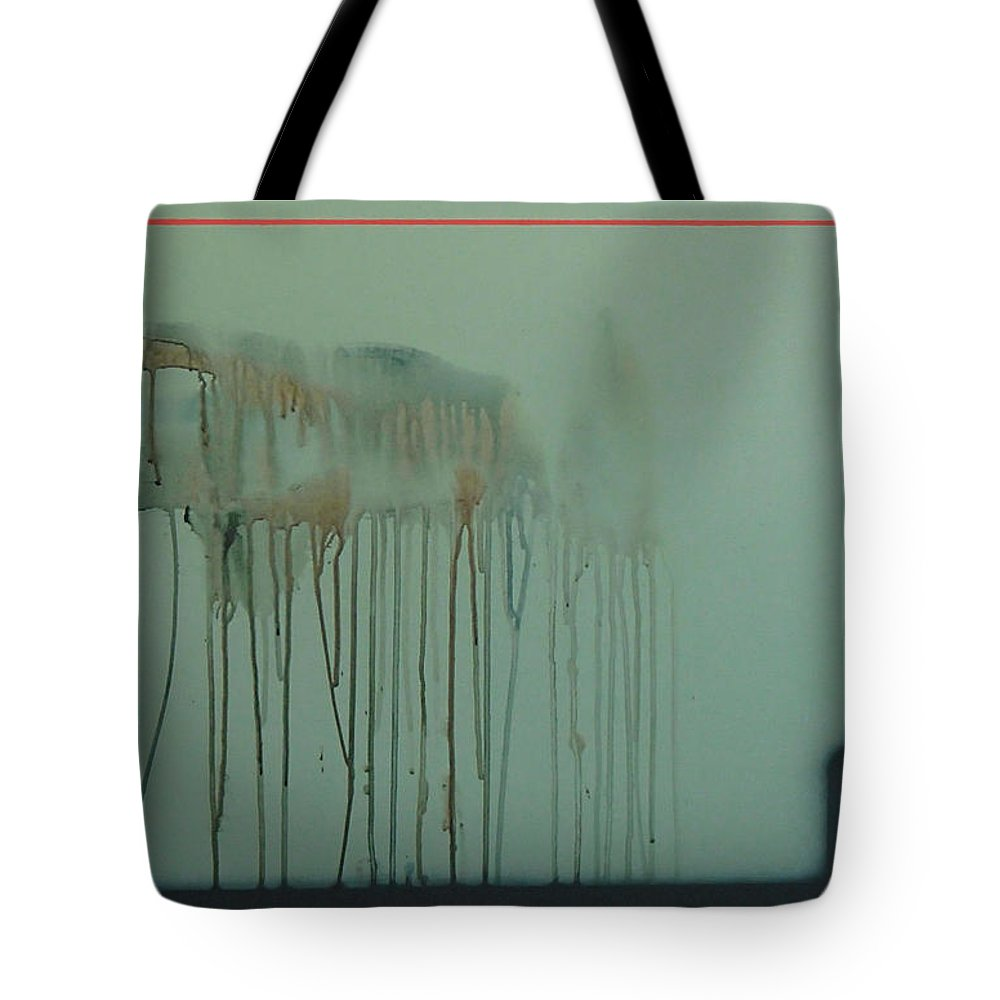 Abstract Expressionism Tote Bag featuring the painting 2017 by Philip Fleischer
