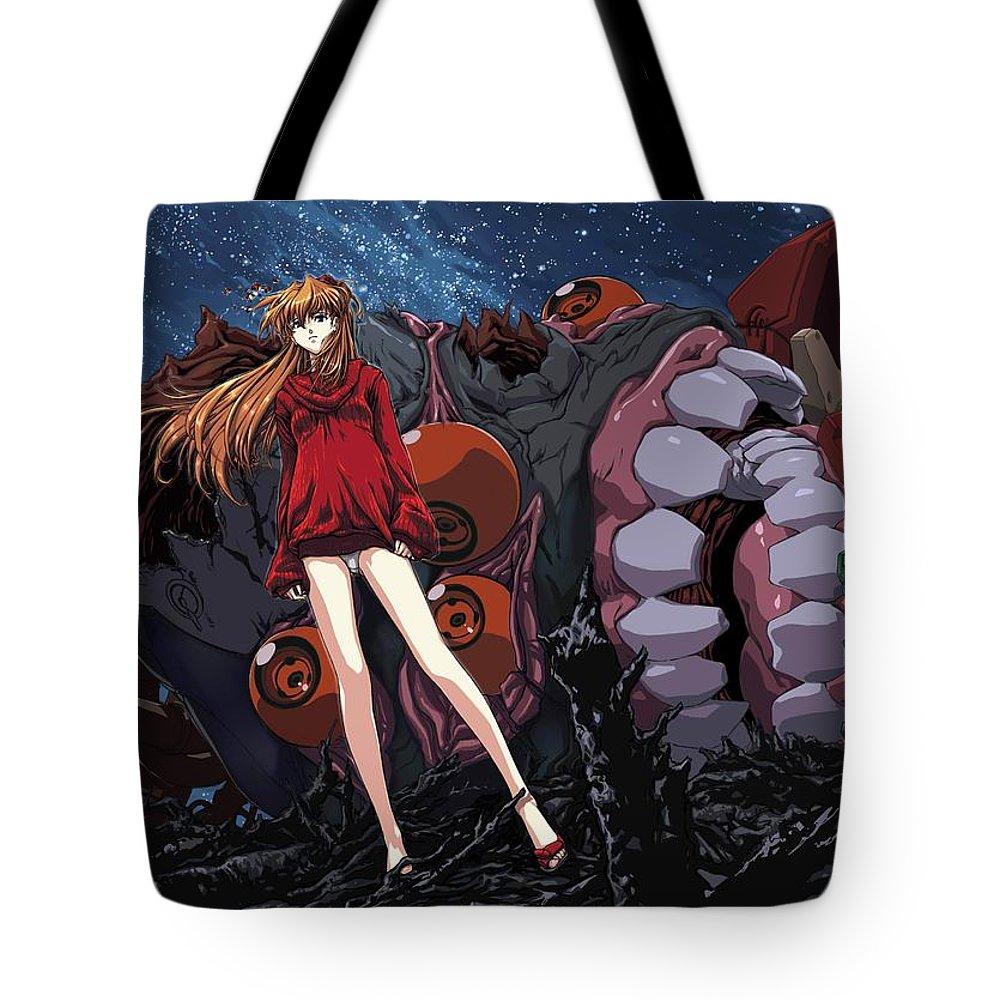 21661 Neon Genesis Evangelion Tote Bag For Sale By Mery Moon