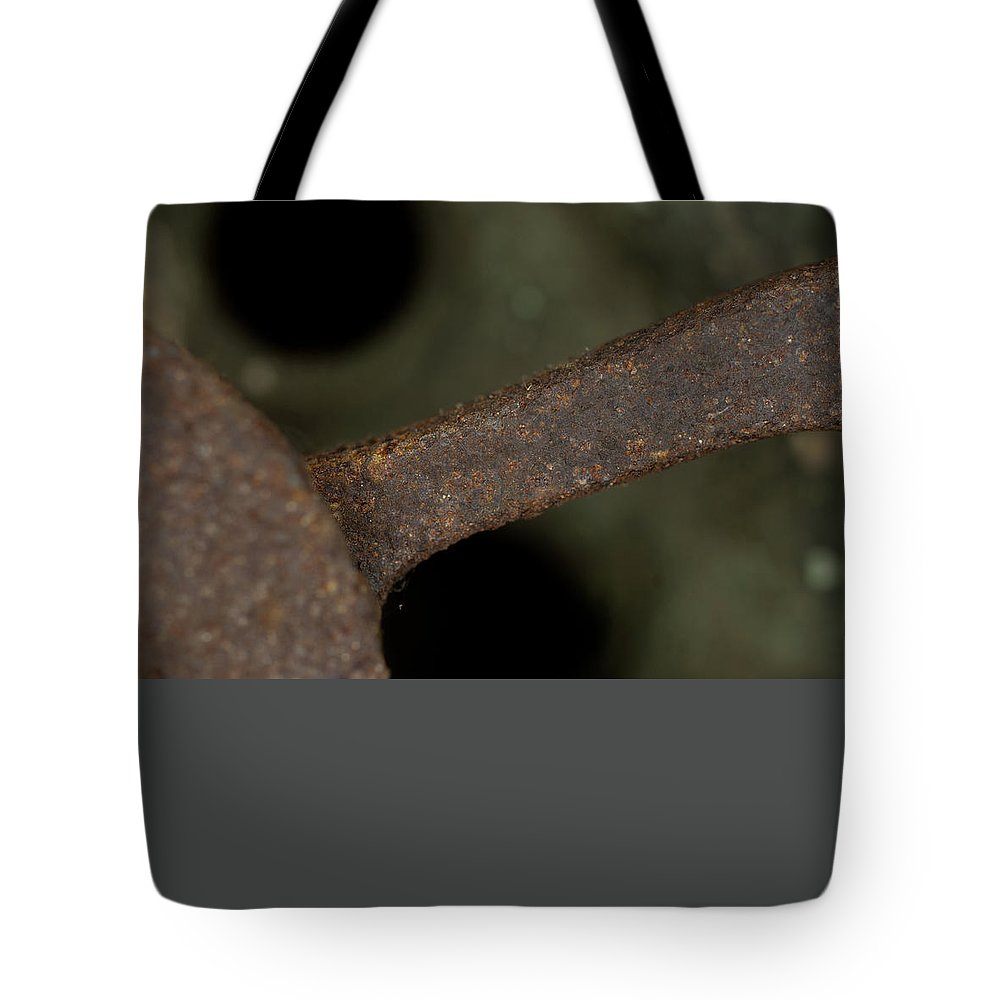Macro Tote Bag featuring the photograph Macro Of Everyday Object by Diane Schuler