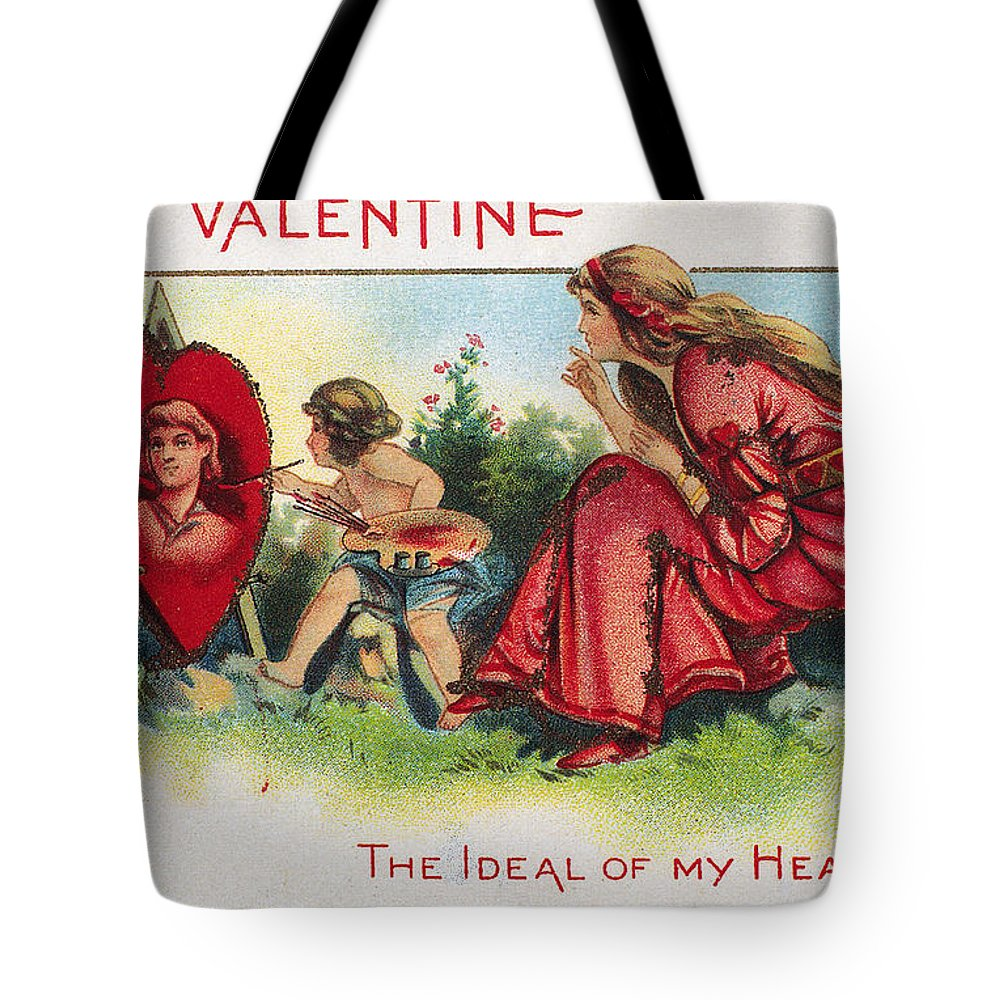 1917 Tote Bag featuring the photograph Valentines Day Card by Granger