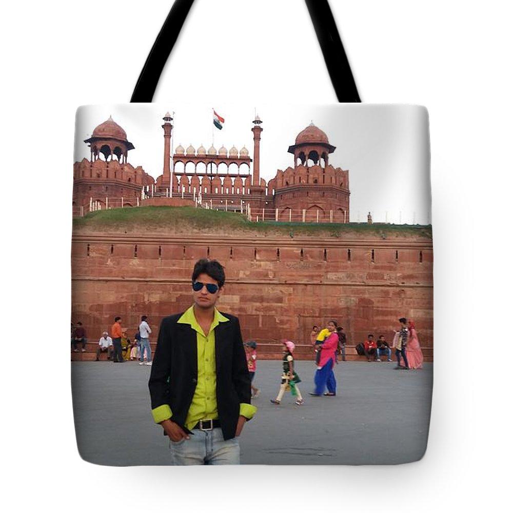 Harpal Singh Jadon Tote Bag featuring the photograph Harpal Singh Jadon by Harpal Singh Jadon Jadon