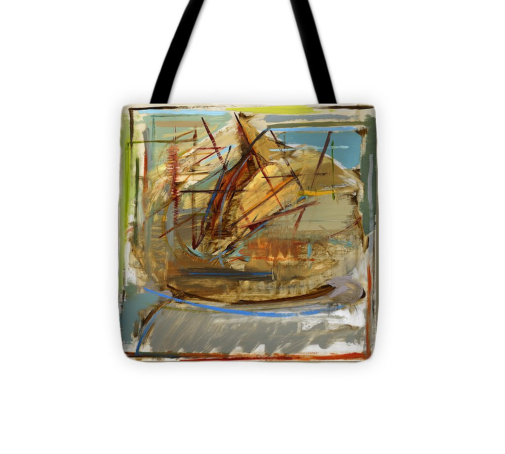 Bread Tote Bag featuring the painting Rcnpaintings.com by Chris N Rohrbach