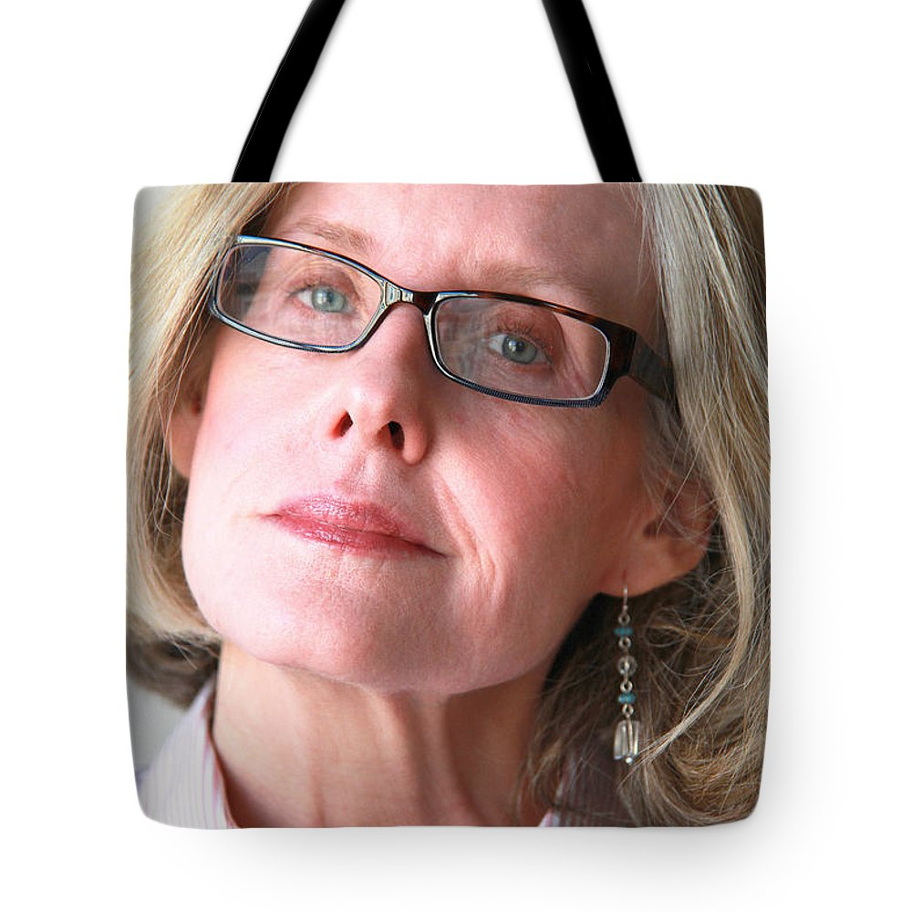 Mature Tote Bag featuring the photograph Female Beauty Expressions. by Oscar Williams