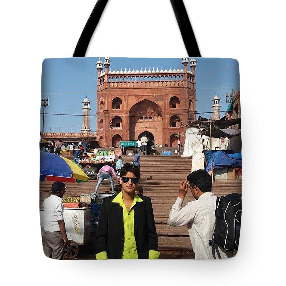 Harpal Singh Jadon Tote Bag featuring the pyrography Harpal Singh Jadon by Harpal Singh Jadon Jadon