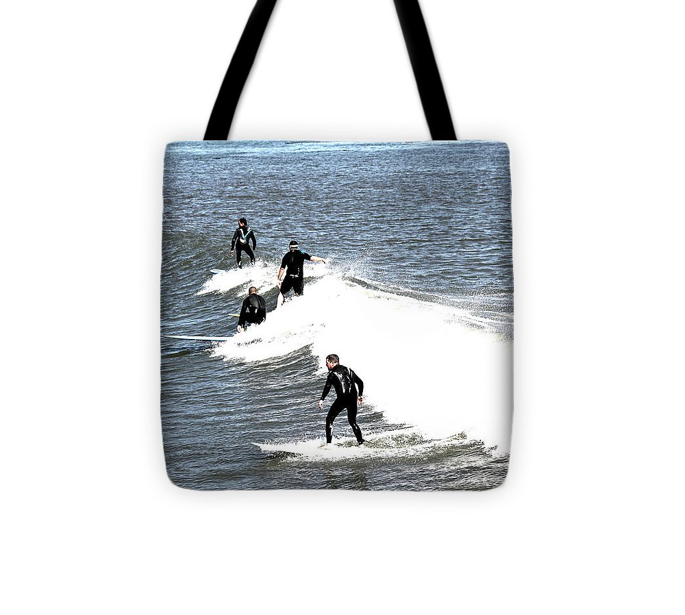 Landscape Tote Bag featuring the photograph 273 - Capitola Village 6 Hdr by Chris Berry