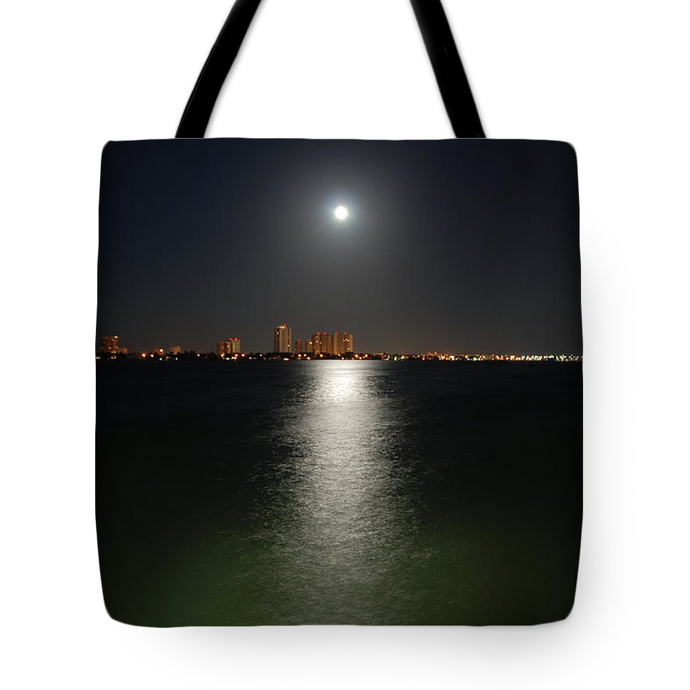 Moon Tote Bag featuring the photograph 3- Reflections by Joseph Keane