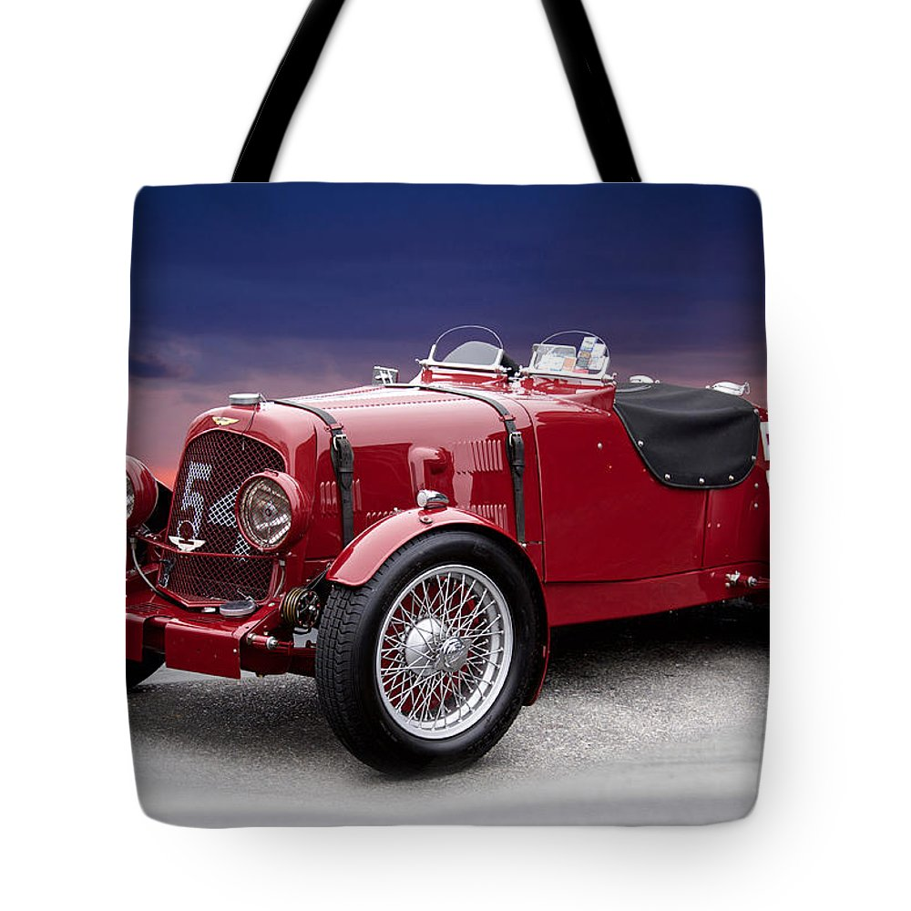 1938 Aston Martin Vintage Racecar Tote Bag for Sale by Dave Koontz