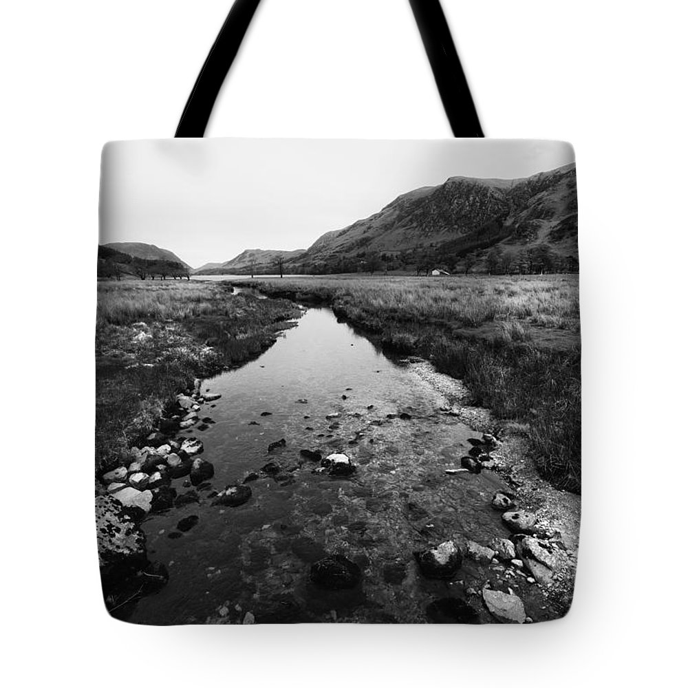 Buttermere Tote Bag featuring the photograph Buttermere by Smart Aviation