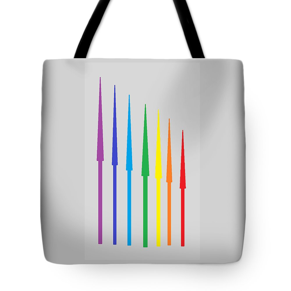 Tote Bag featuring the digital art Design by Aj