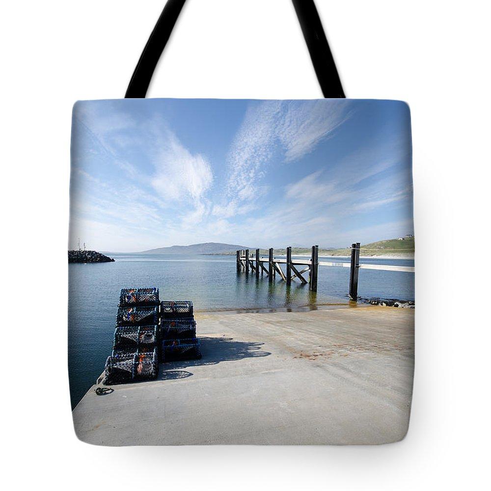 Eriskay Scotland Tote Bag featuring the photograph Eriskay by Smart Aviation