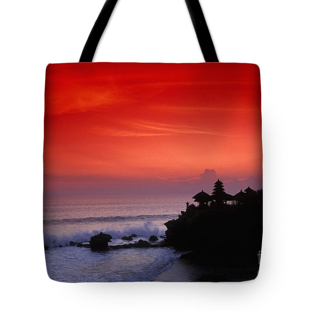 Bali Tote Bag featuring the photograph Indonesia, Bali by Gloria & Richard Maschmeyer - Printscapes