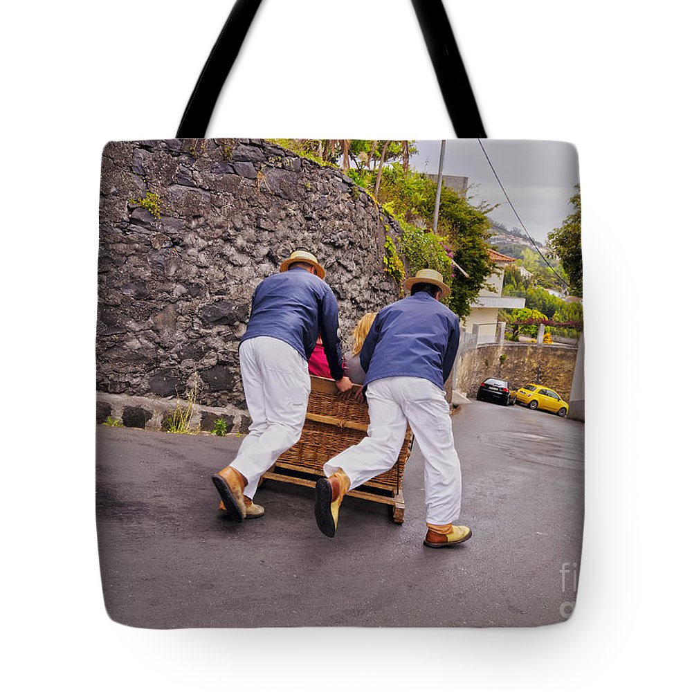 Portugal Tote Bag featuring the photograph Madeira by Karol Kozlowski