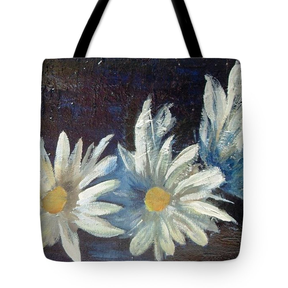 Me In The Pool Tote Bag featuring the painting 3 Margaritas by Carol P Kingsley
