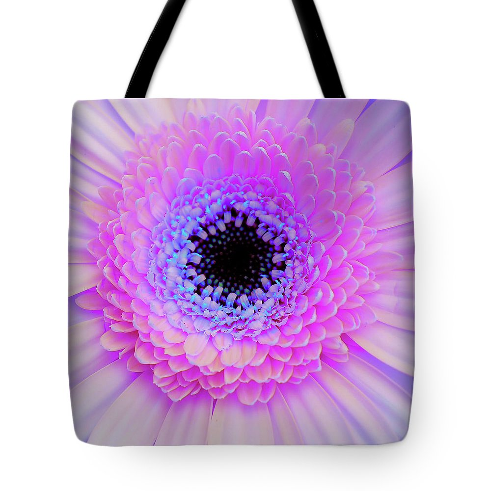 Gerber Tote Bag featuring the photograph Multicolor Pinks by JAMART Photography