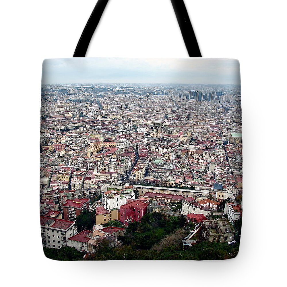 Naples Tote Bag featuring the photograph Naples Italy by Brett Winn