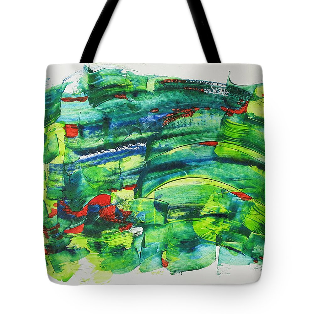 Nowrz Tote Bag featuring the painting Nowruz by Afsaneh Taebi