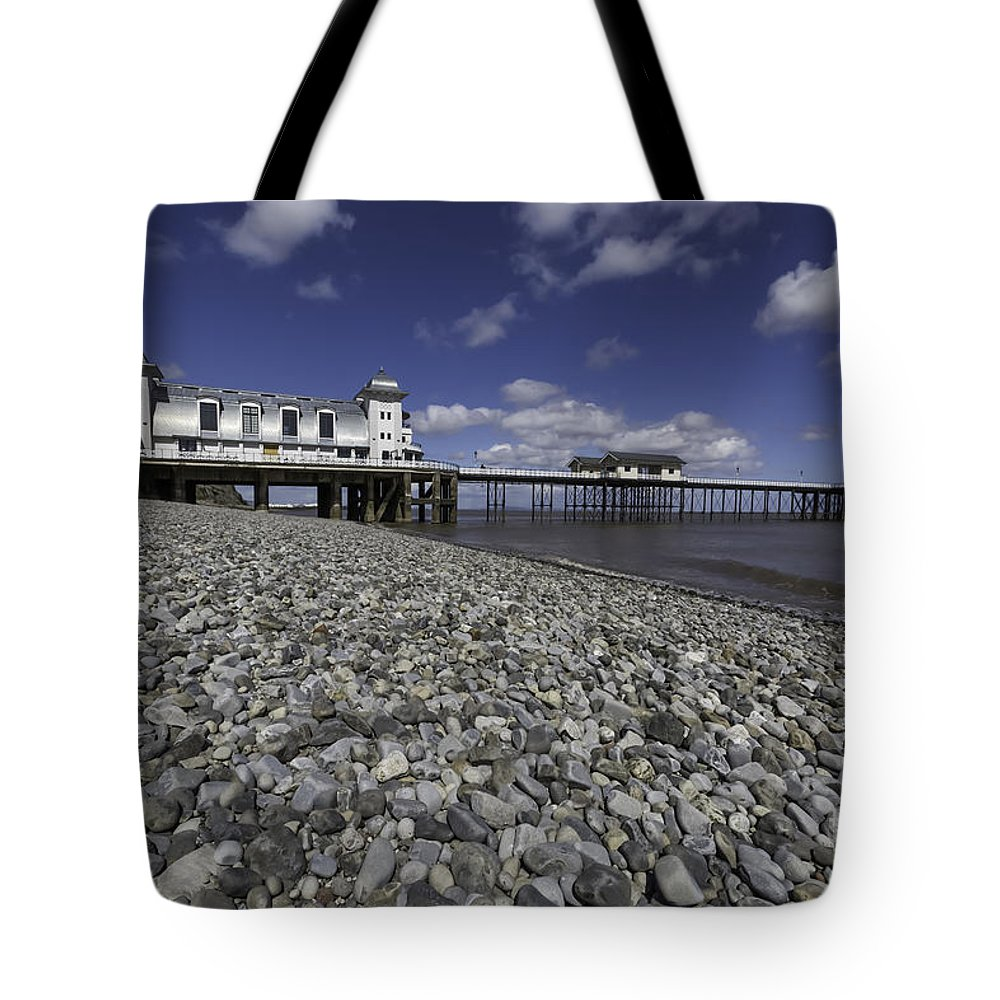 Penarth Pier Tote Bag featuring the photograph Penarth Pier 2 by Steve Purnell