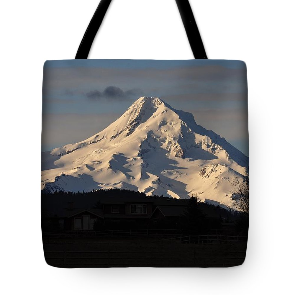 Mountain Tote Bag featuring the photograph Mountain by FL collection