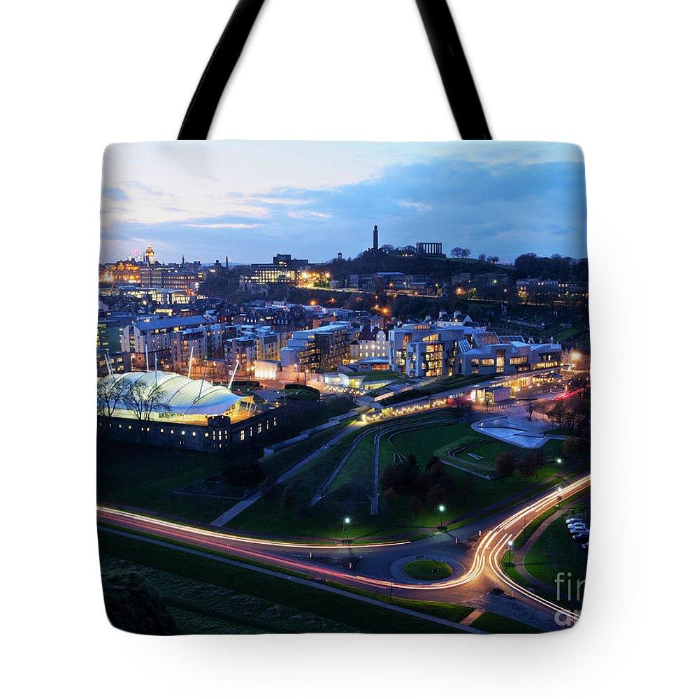 Europe Tote Bag featuring the photograph Edinburgh, Scotland by Karol Kozlowski