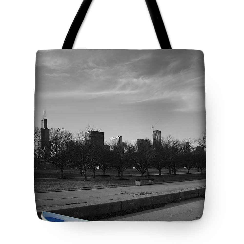Cityscape Tote Bag featuring the photograph 347 by Dylan Punke