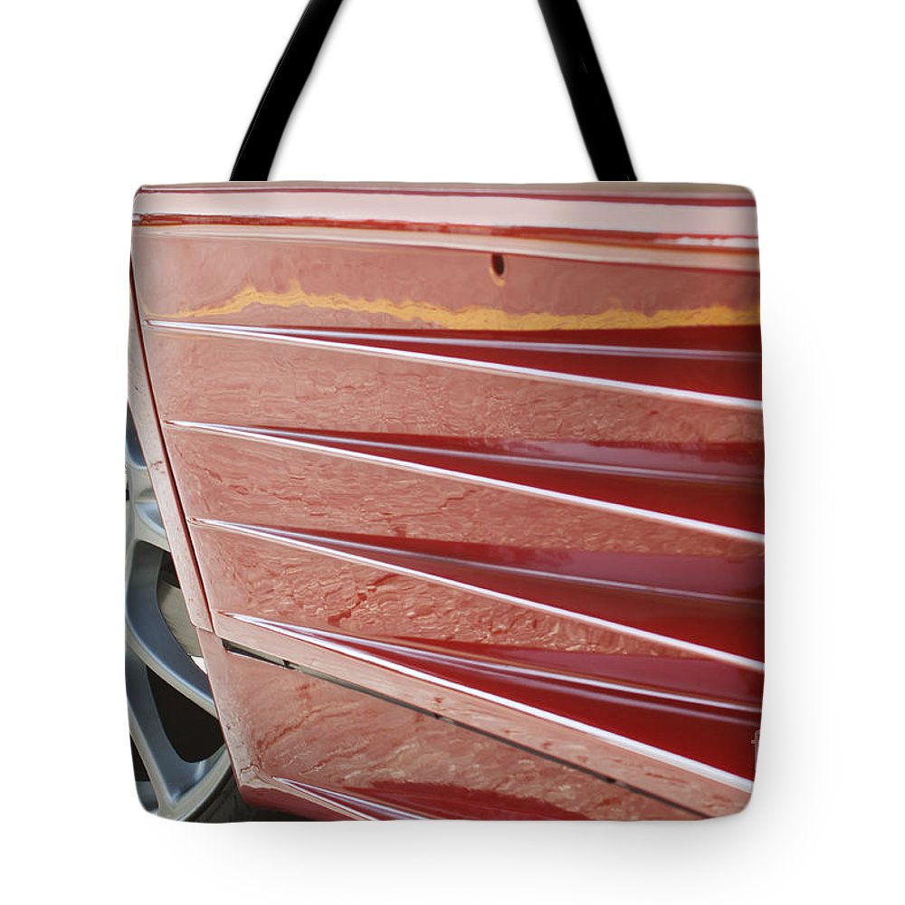 Ferrari Tote Bag featuring the photograph 348 Ts by Dennis Hedberg