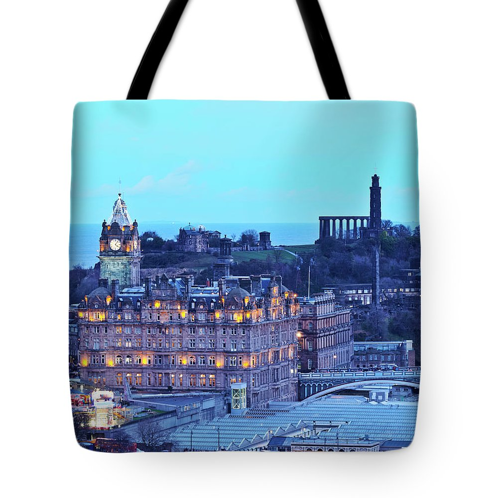 Europe Tote Bag featuring the photograph Edinburgh, Scotland by Karol Kozlowski