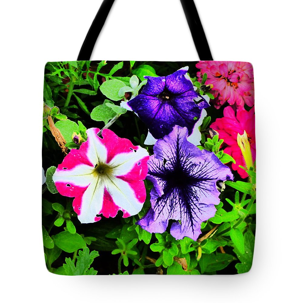 Idaho Spring Flowers Gardens Floral Tote Bag featuring the photograph Caravan Of Dreams by Paul Stanner